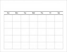 blank calendar template printable blank calendar template pdf