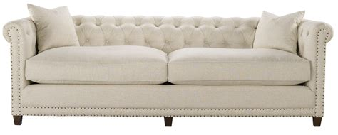 sofa linen fabric dumont sofa tufted linen fabric spectra home wc s3267 30