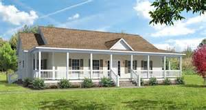 floor plans for ranch homes with wrap around porch covered wrap around porch on ranch the ashton i floor plans modular homes greensboro nc
