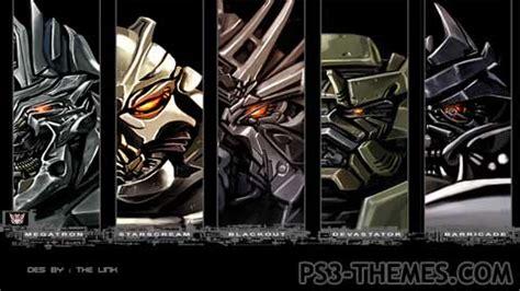my themes beta ps3 themes 187 transformers beta