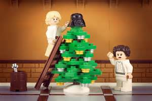 christmas at the skywalkers lego style