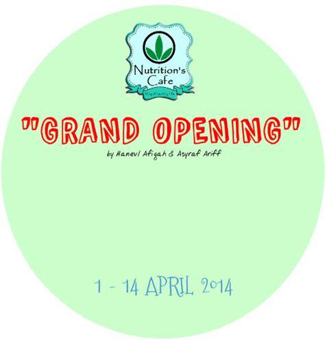 Grand Opening Giveaway - grand opening giveaway by haneulafiqah aku pengembara