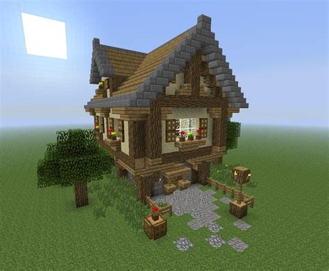 cottage guide house minecraft simple house