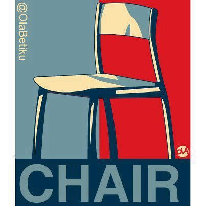 Meme Chair - talking point we are delusional and detached from reality