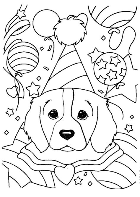 Free Coloring Pages Of Lisa Frank Dog Frank Color Pages