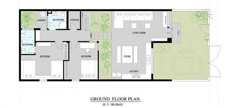 modern ground floor house plans modern home floor plan