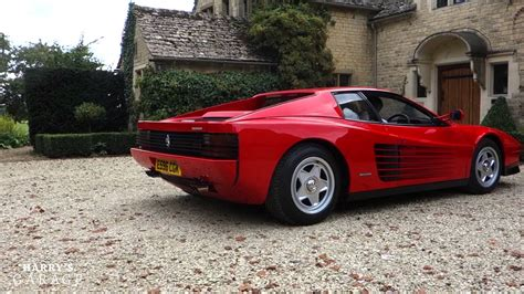 ferrari testarossa ferrari testarossa drive and review youtube