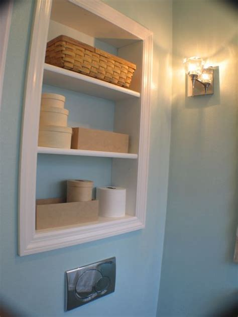 Recessed Bathroom Shelves Recessed Shelving In Kitchen Hmm Pictures