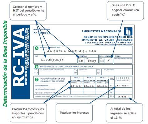 guia llenado de formulario 110 v3 en el facilito guia llenado de formularios 200 it 400 iva