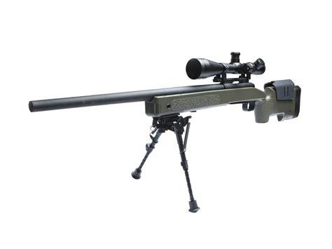 Airsoft Gun Rifle m40a3 airsoft sniper rifle mcmillan licensed by asg