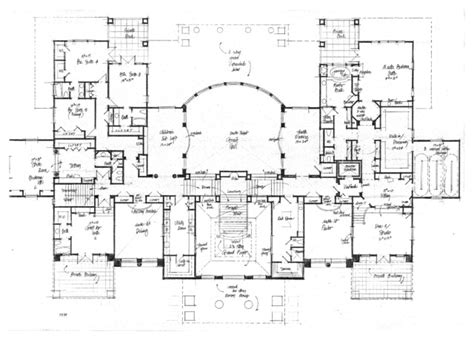 pensmore mansion floor plan pin castle floor plans a large plan on pinterest