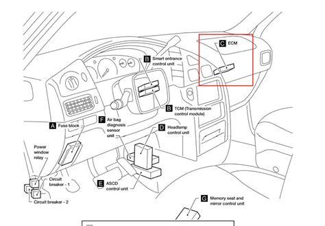 2000 nissan maxima ecm location 2005 infiniti g35 fuse box diagram 2005 free engine