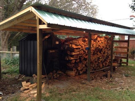 ideas  wood shed  pinterest firewood shed