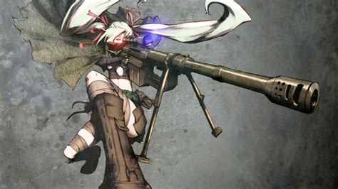 anime gunslinger sniper rifles 1123 wallpapers and