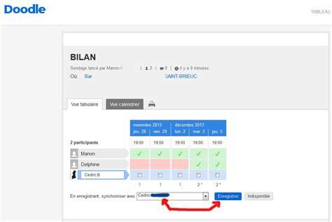 doodle gmail calendar configurer et synchroniser compte doodle avec