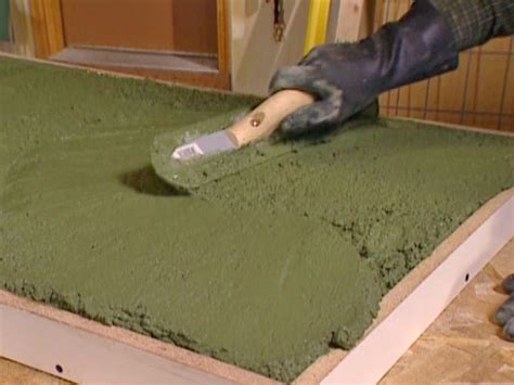 Build A Concrete Countertop by How To Build A Concrete Countertop How To Diy Network Html