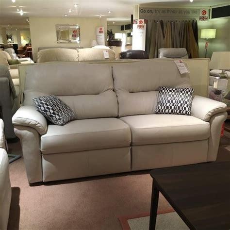 g plan washington leather 3 seater sofa recliner