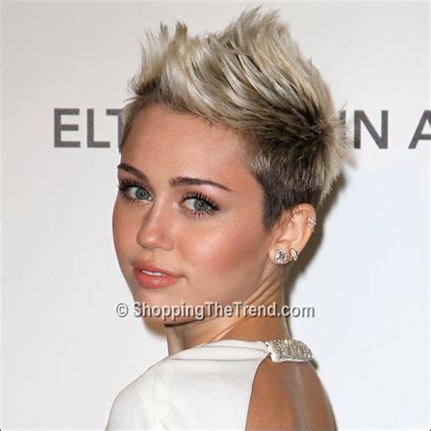 miley cyrus short haircut 2013 miley cyrus short hair makeup elton john aids