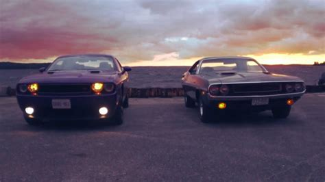 challenger vs new challenger the dodge challenger new and r t find