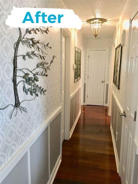 banish  boring narrow hallway hometalk