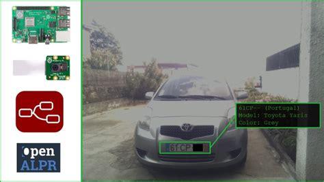 car plate recognition system  raspberry pi  node