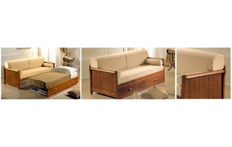 divano letto legno divani letto in legno idee per il design della casa