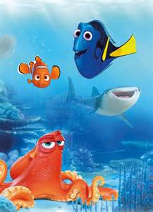 Adhesive Wall Mural finding dory disney design paper wallpaper homewallmurals