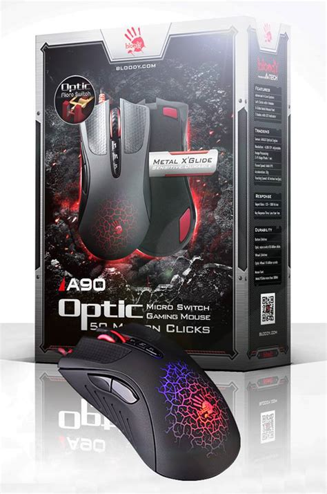 Mouse Bloody A90 bloody a90 optic micro switch gaming mouse at low price in pakistan