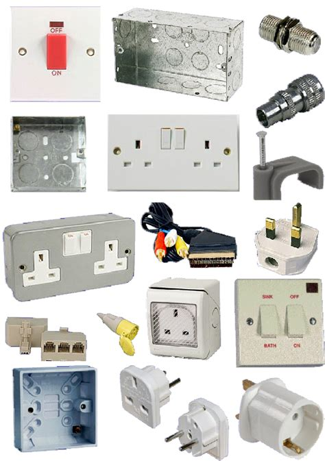 electrical accessories electrical switches sockets lightfittings accessories