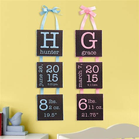 personalized nursery decor personalized nursery d 233 cor and baby room decorations at