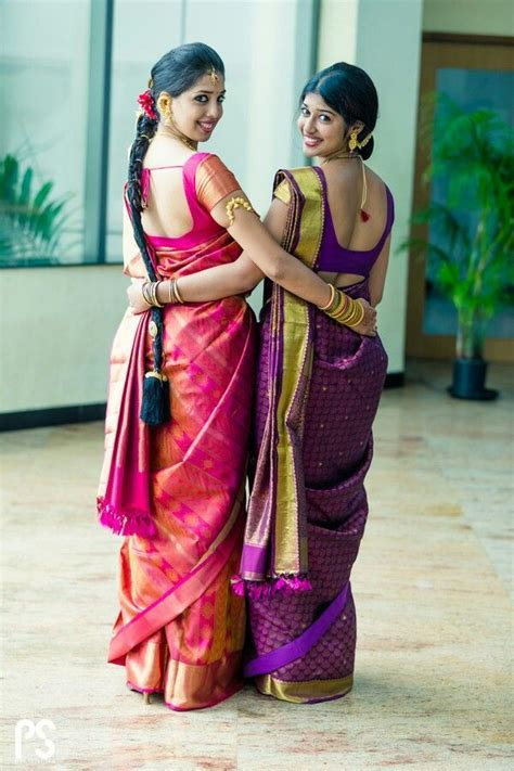 93 best Silk saree images on Pinterest   South indian