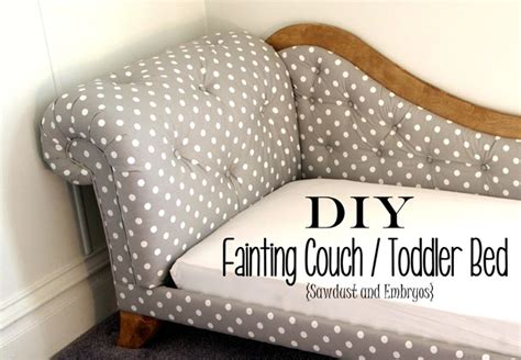diy fainting couch toddler bed fainting couch tufting upholstery