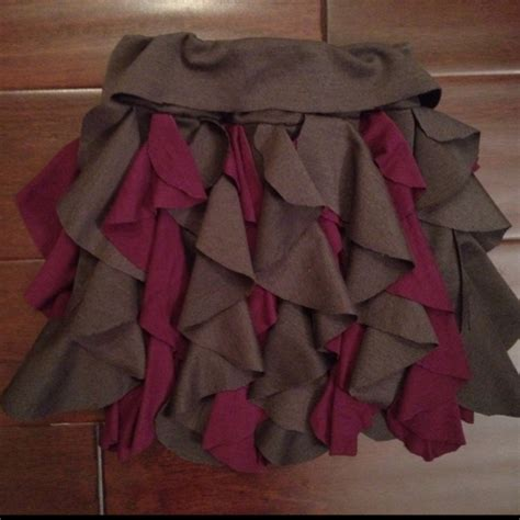pattern making ruffles cascading ruffle skirt tutorial with template could also