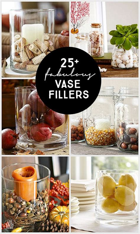 Vase Filler Ideas Home by 25 Best Ideas About Vase Fillers On Hurricane