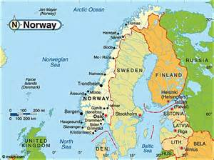 Norway Europe Destination Norway Travel And Tourist Information Map
