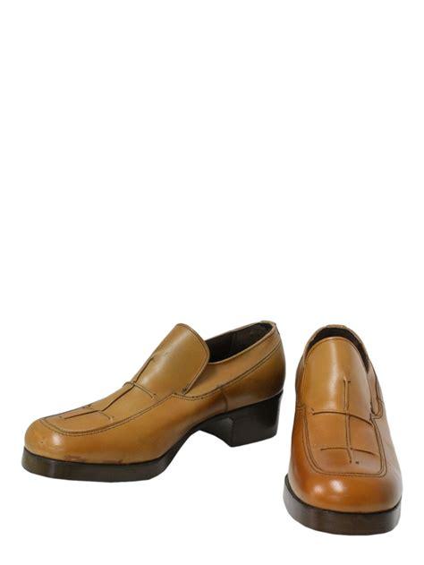 freeman 970 vintage shoes 70s freeman mens brown