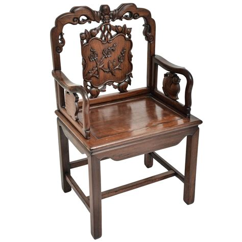 chinese armchair 19th chinese rosewood armchair at 1stdibs