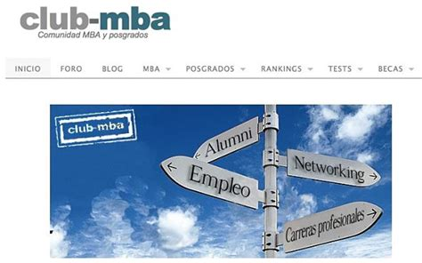 Mba Club by Club Mba Estudiantes Web Y Paginasweb