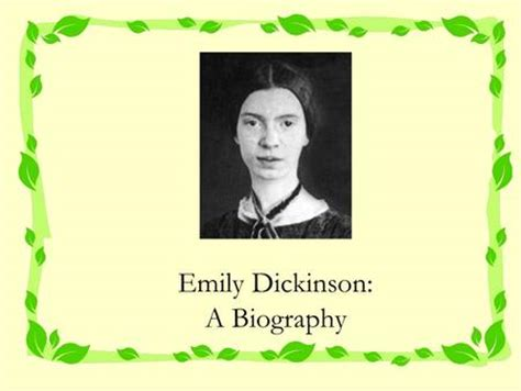 Early Life Emily Dickinson | transcendentalism realism ppt download