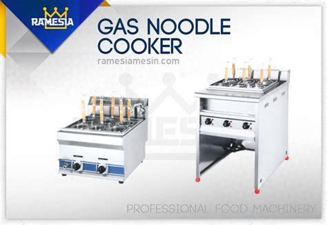 Oven Gas Ramesia mesin pemasak mie atau noodle cooker ramesia mesin