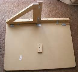 norbo wall mounted drop leaf table inner workings for diy