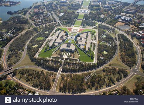 buy house in canberra parliament house capital hill canberra act australia aerial stock photo royalty free