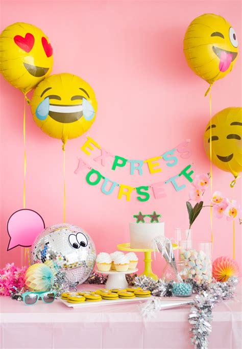 emoji party emoji party express yourself