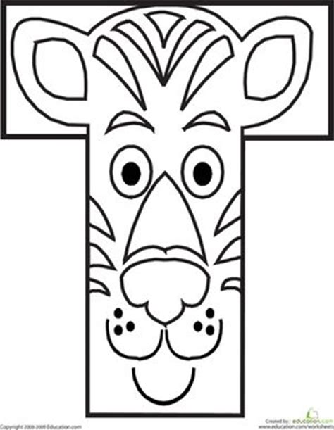 alphabet coloring pages t 1000 images about jungle on pinterest jungle animals