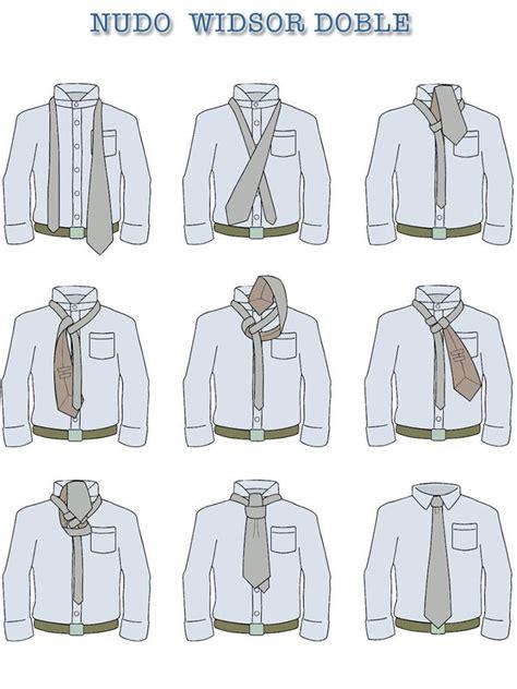 nudos de corbatas nudo de corbata widsor doble fashion en 2019