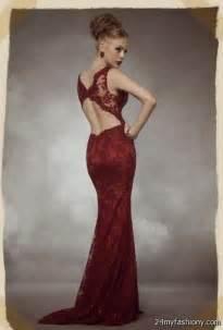 maroon lace prom dresses 2016 2017 b2b fashion