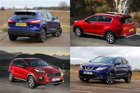 Kia Nissan Test Nissan Qashqai Vs Kia Sportage Parkers