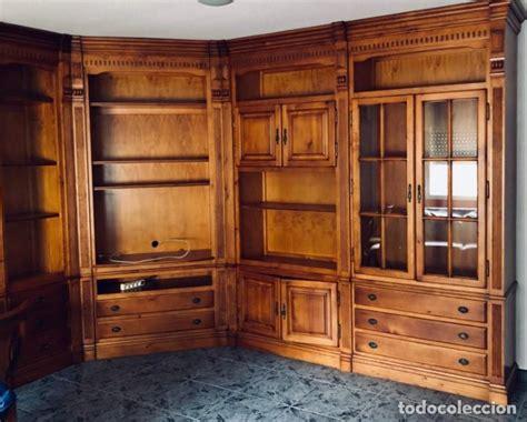 mueble salon comedor de madera maciza tipo gua comprar