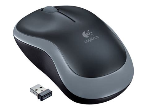 Logitech Wirelles M185 Limited logitech m185 wireless mouse grey ebuyer