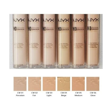 Nyx Concealer Wand nyx professional makeup concealer wand swatches mugeek